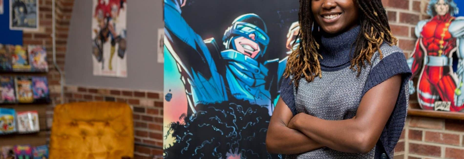 NBC: First Black Woman to Win Eisner Award Is Conquering the Comic Industry