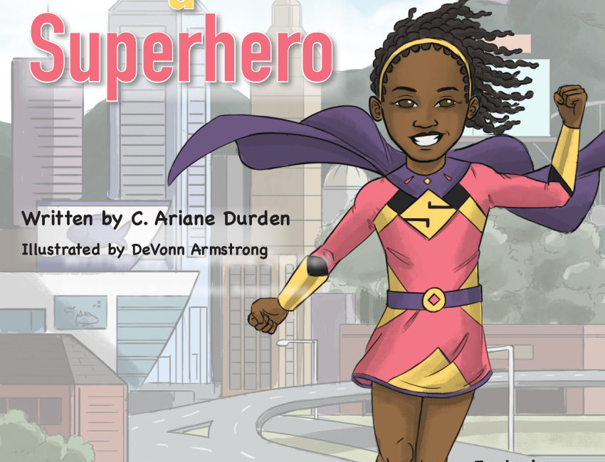 Becoming a Superhero, author interview