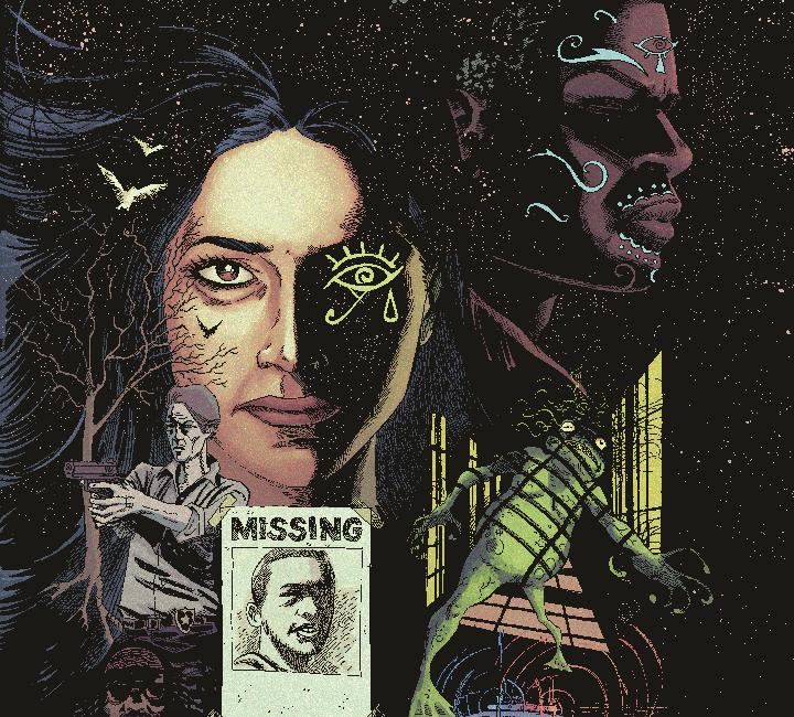 supernatural/noir graphic novel thriller, Gray Cells